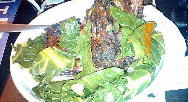 Greens and Neckbones