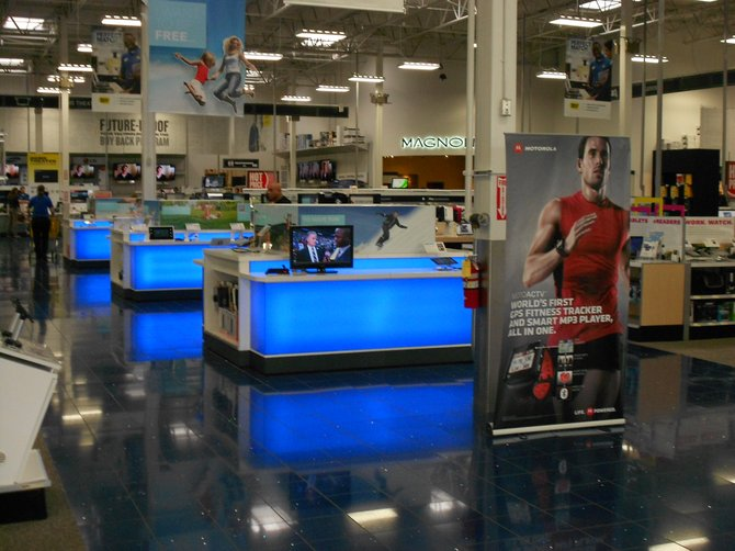 Best Buy store in Mission Valley.