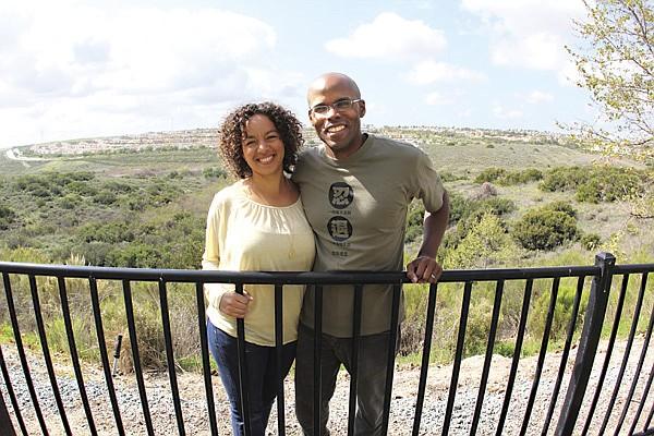 Elizabeth Salaam and her husband