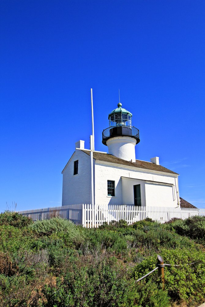 Cabrillo Light house.