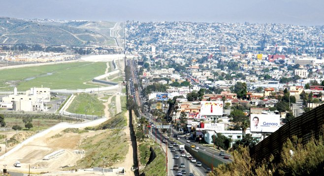 Image result for tijuana border