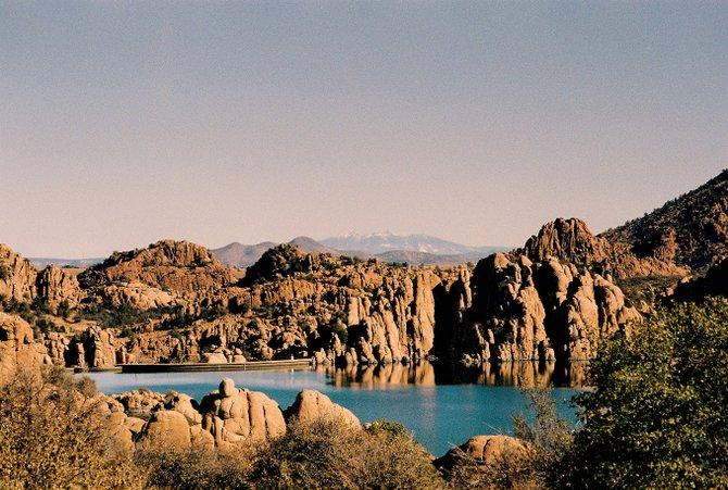 Watson Lake in Prescott, Arizona.