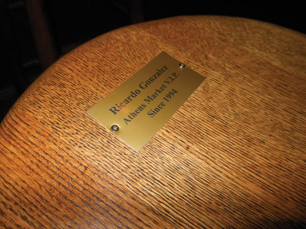 Ricardo's stool