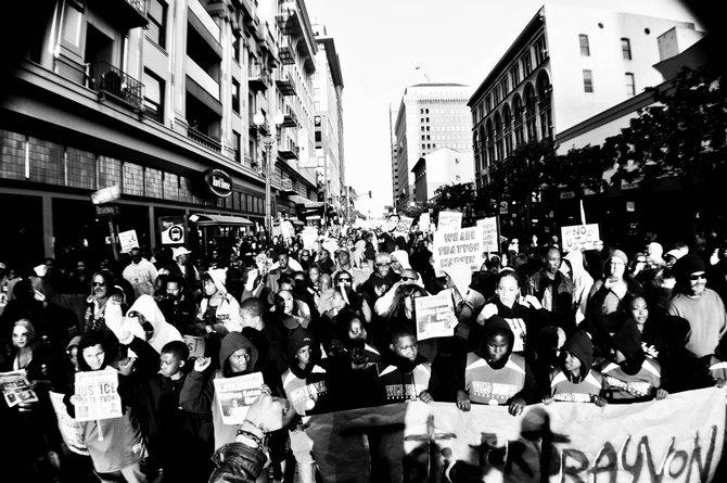 Trayvon Martin Rally 2012 Photo taken by: Thovan