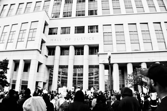 Hall of Justice (Trayvon Martin 2012 Rally) Photo Taken by: Thovan