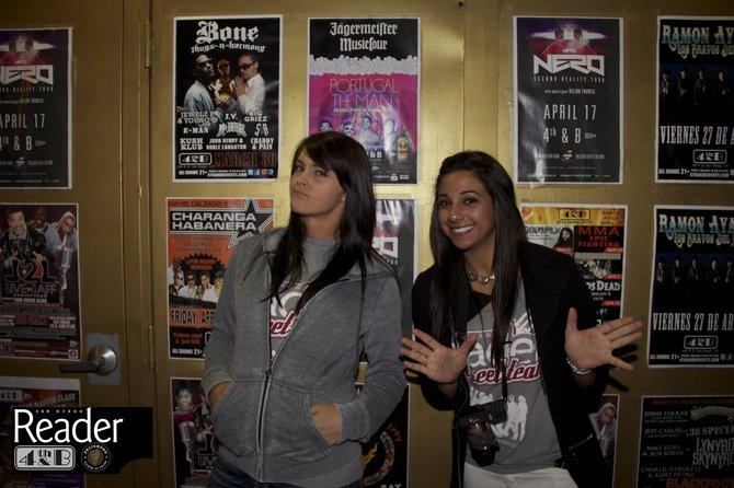 Street Team Ladies Allison and Renee!
