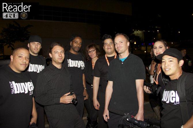Talent Buyer camera crew.