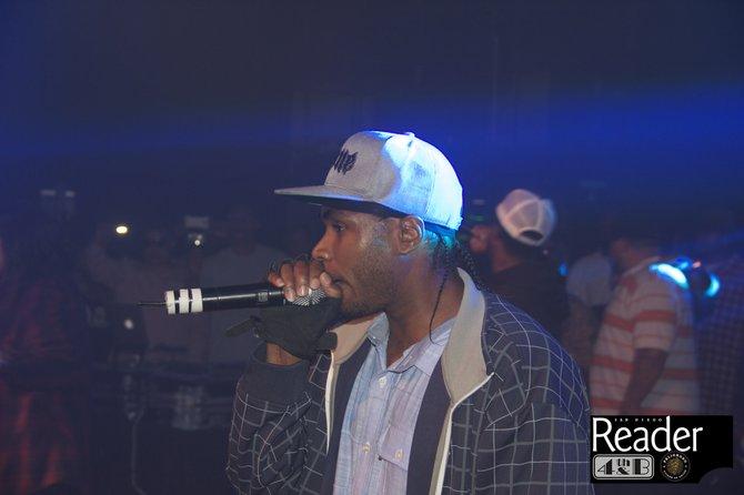 Flesh-N-Bone on stage.