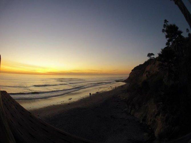 Sunset at Swamis  Encinitas, CA