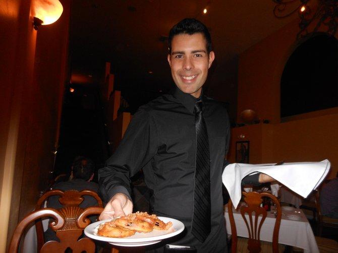 *Rodrigo, uber-cool waiter*