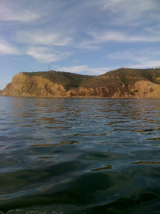 Point Loma from a Sail Boat!
