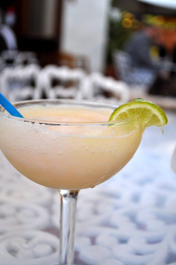 Refreshing beverage in Carlsbad