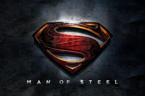 Warner Bros Redesign Of The Superman Logo For Man Steel