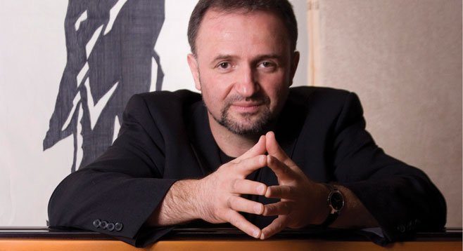 Drummer's pianist Mikan Zlatkovich.