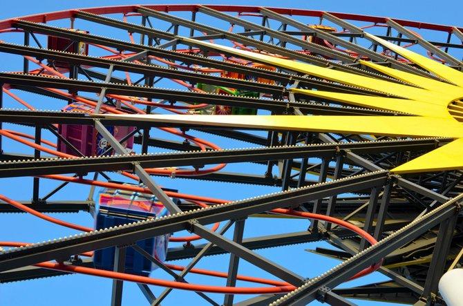Ferris Wheel at Disneyland, Anaheim CA