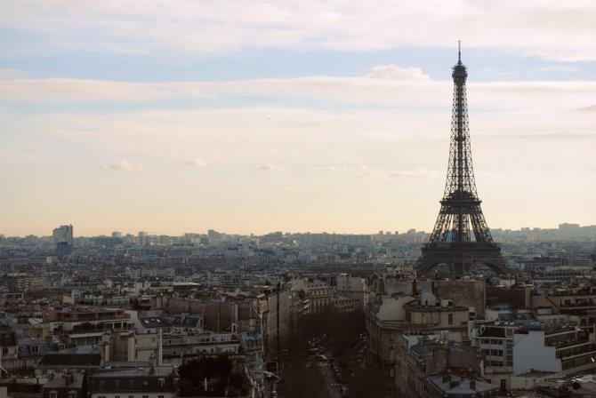 Eiffel Tower. Paris, France.
