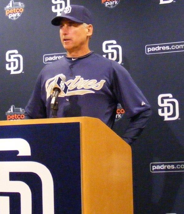(Image: Padres Manager Bud Black)