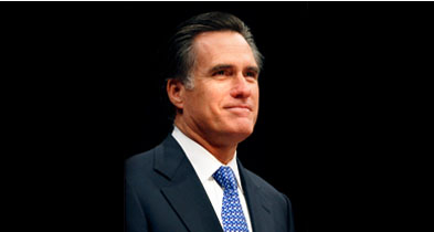 Photo of Mitt Romney from Wikipedia
