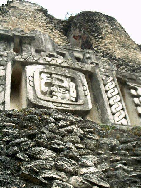 Scoping out a Mayan ruin near San Ignacio