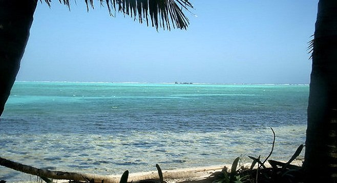 Belize: postcard Caribbean on the caye.