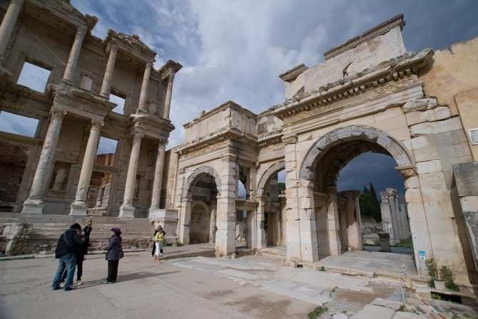 Ephesus Turkey - The Celsus Library