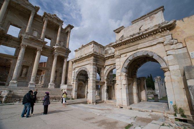 Ephesus Turkey - The Celsus Library
