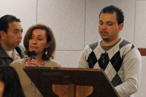 The bereaved husband spoke to the court. PHOTO BOB WEATHERSTON