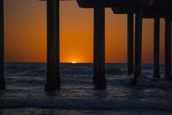 La Jolla - Scripps Pier Sunset