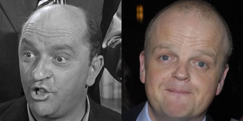 Toby Jones as Phil 'Peeping Tom' Arnold.