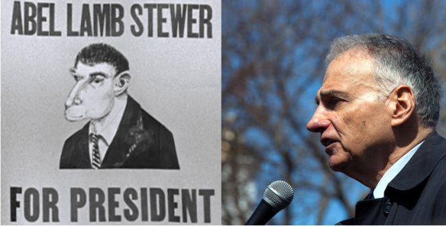 Ralph Nader as Abel Lamb Stewer.