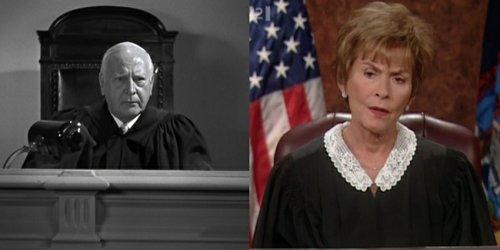 """Judith Sheindlin as """"Judgey Wudgey."""""""