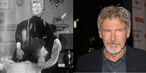 Harrison Ford as The Goof on the Roof.