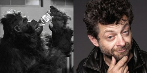 Andy Serkis as The Ape Man.