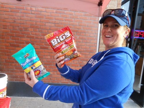 ...Then along comes Frito Lay Mary...ready to compare