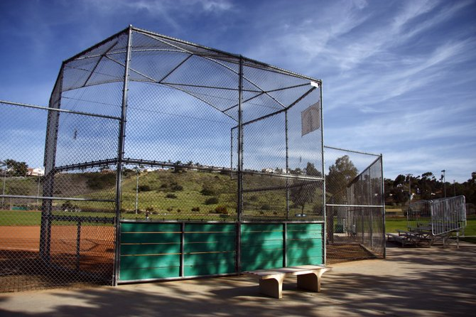 Baseball field at Canyonside Park in Rancho Penasquitos