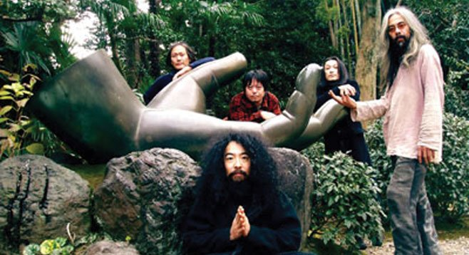 Soda Bar sets up freakout rock 'n' soul collective Acid Mothers Temple on Thursday night.