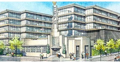 image of proposed Fat City Lofts