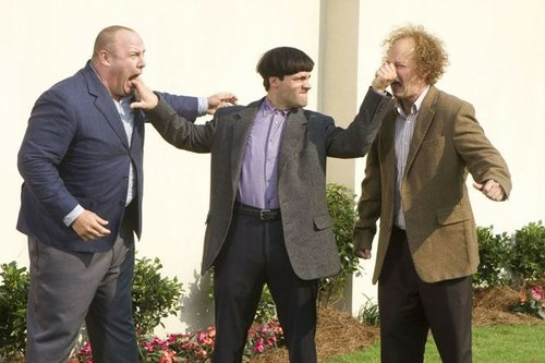 Will Sasso, Chris Diamantopoulos, and Sean Hayes.