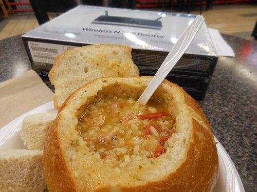 Da soup, da-licious!