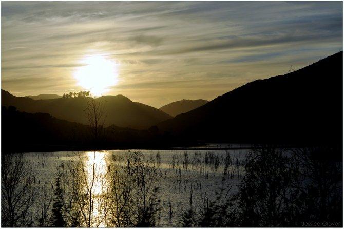 Lake Hodges in Rancho Bernardo