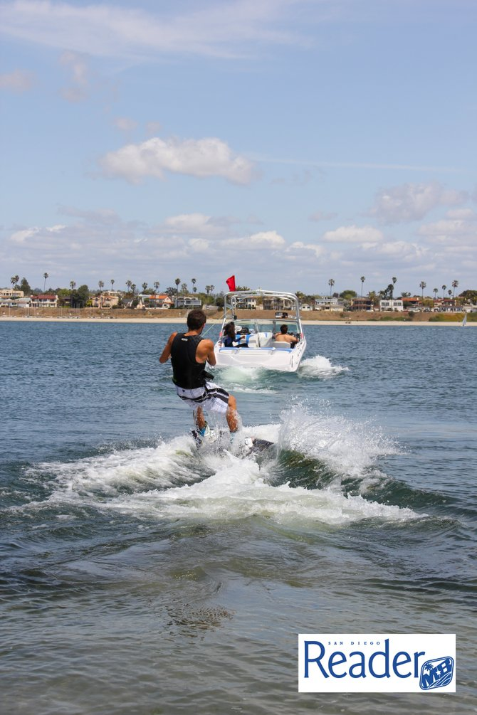 Also wakeboarding is available!