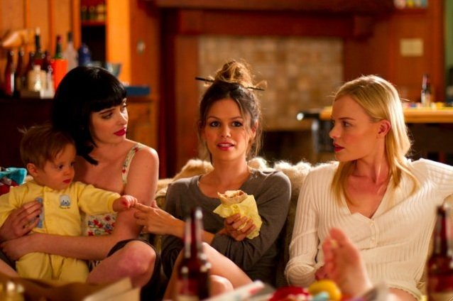 Krysten Ritter, Rachel Bilson, and Kate Bosworth.