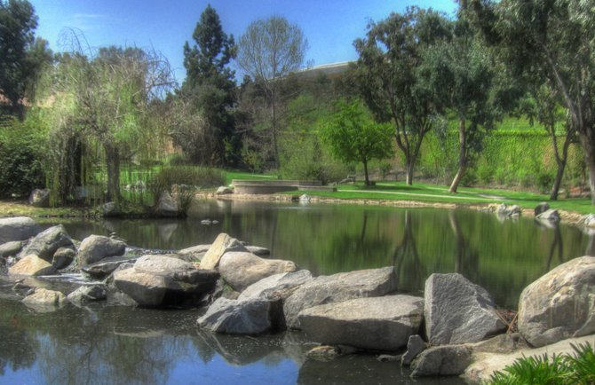 Webb lake Park in Rancho Bernardo