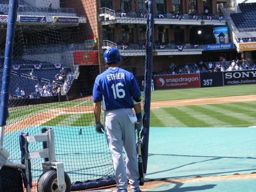Andre Ethier of the Los Angeles Dodgers