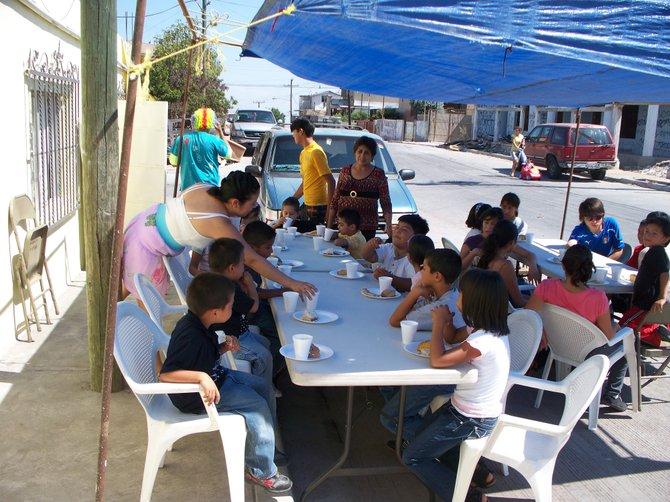 First Breakfast Fiesta in Cumbres de Rubi....