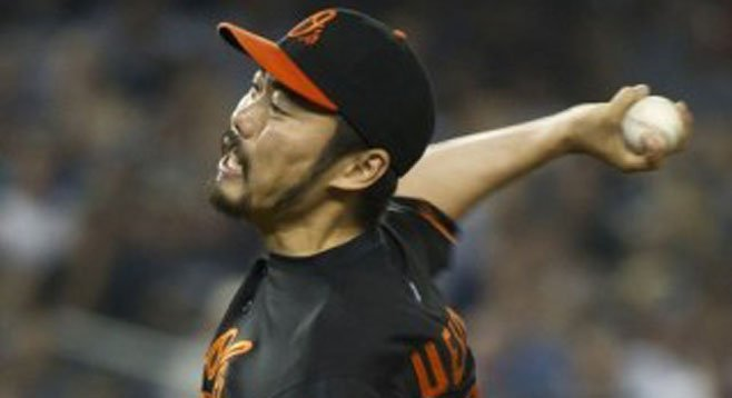 Pitch well, Koji Uehara, you're on my fantasy team.