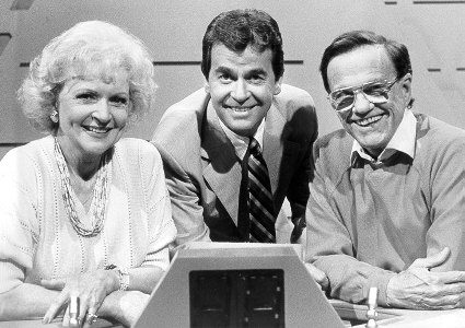 "With Betty White and Bill Cullen on ""The 25,000 Pyramid"" (1987)."