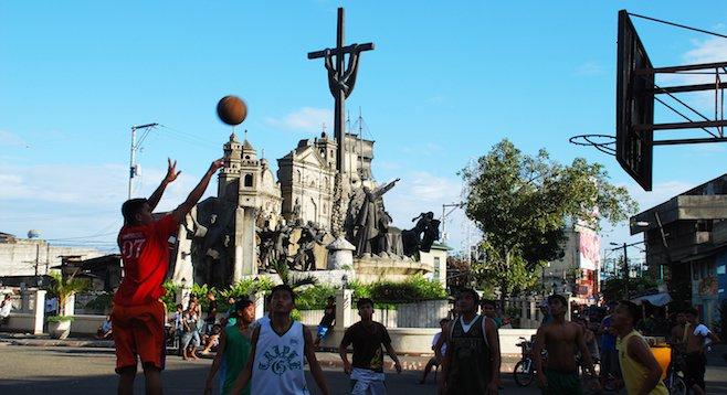 Pick-up hoops, Cebu style