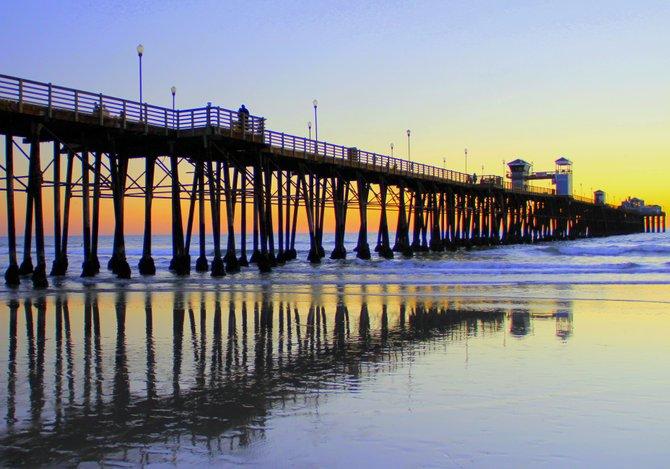 Oceanside Pier, Oceanside, CA - BHRibbey
