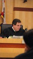 San Diego Superior Court Judge Aaron Katz.  PHOTO BOB WEATHERSTON